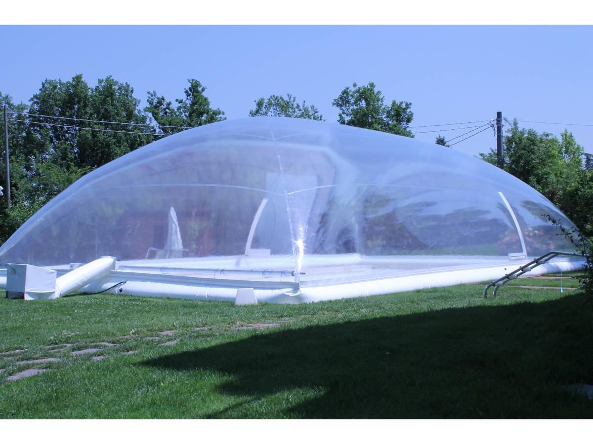 """Dôme Gonflable Pour Piscine """"cristalball Solar"""" - 5 X 10 M 97702 à Abri De Piscine Hors Sol"""