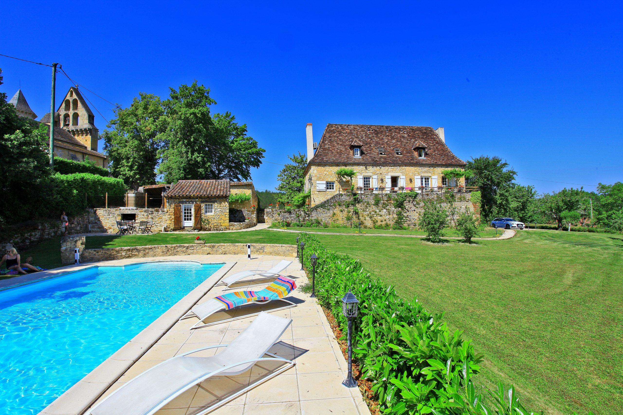 Dordogne Location Maison Caractere Piscine Chauffée, Classée 5* Près De  Sarlat En Perigord dedans Location Dordogne Piscine
