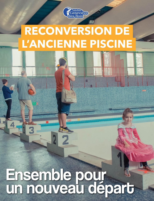 Dossier Piscine By Mairie - Issuu dedans Piscine De Sainte Geneviève Des Bois