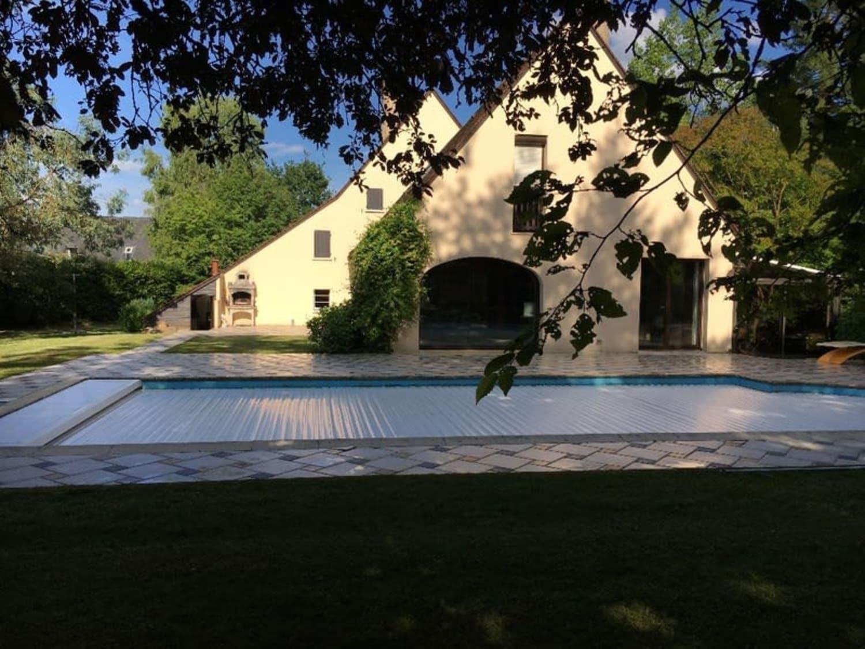 Dpt Sarthe (72), À Vendre Coulaines - Maison P10 De 288 M² - Terrain avec Piscine De Coulaines