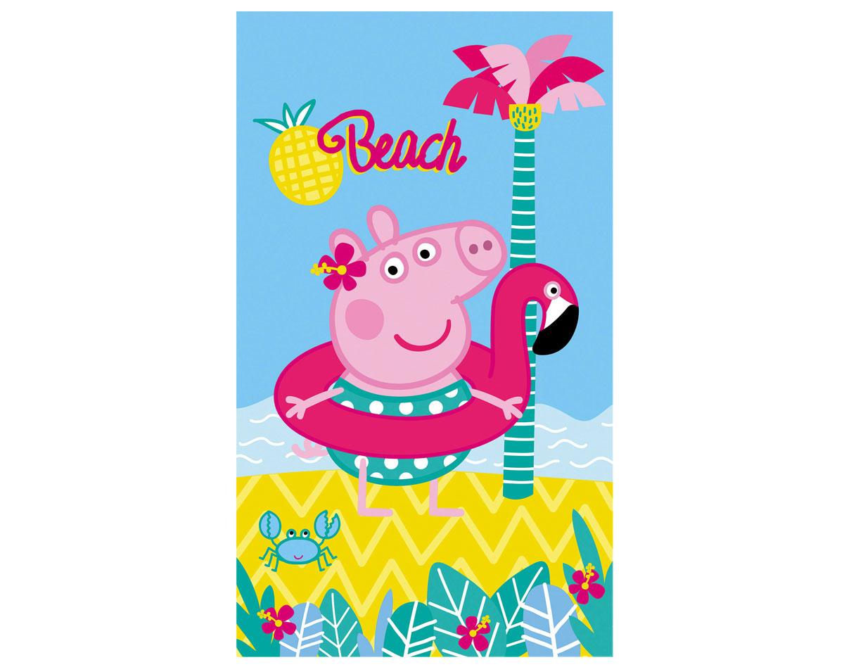 Drap De Bain Peppa Pig® - 320 G/m2 | Becquet destiné Peppa Pig À La Piscine
