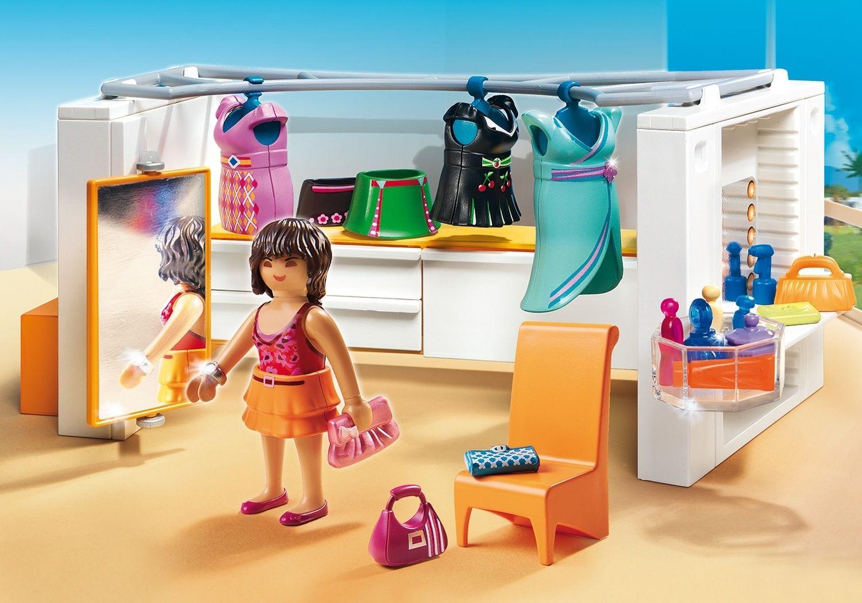 Dressing - Playmobil Maisons Et Intérieurs 5576 avec Piscine Playmobil 5575