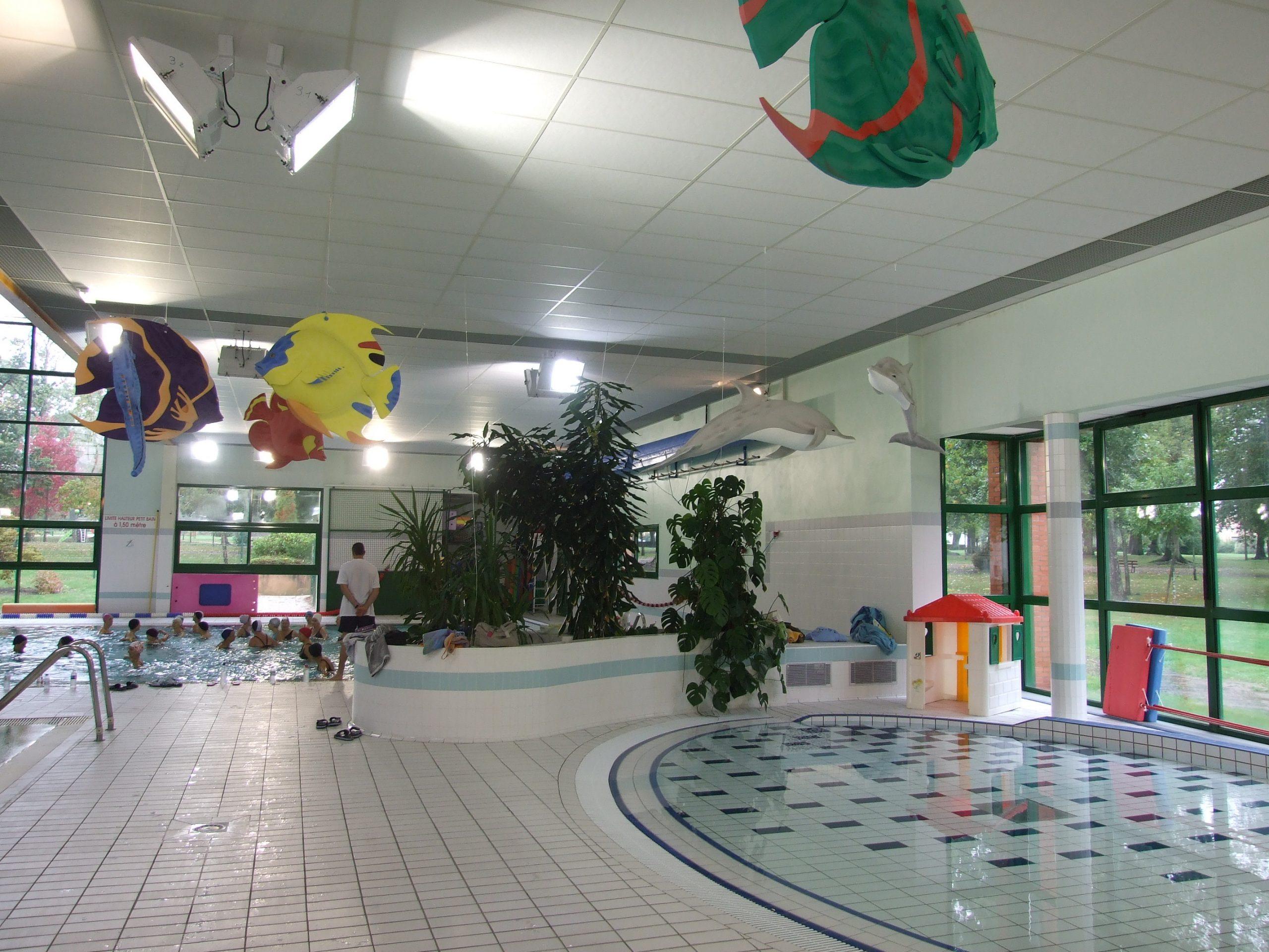 Dufisol: Faux Plafonds Pour Salles De Sport Et Gymnases intérieur Piscine Bourgonnière