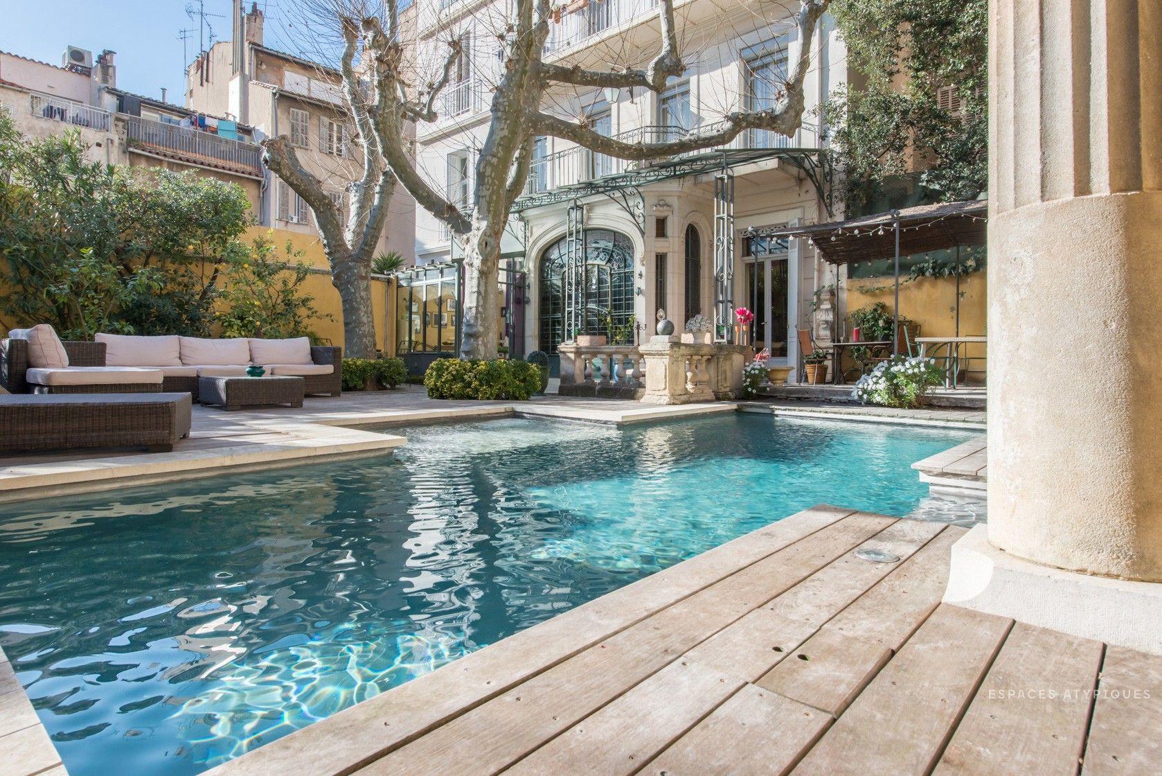 Duplex Avec Jardin Et Piscine Dans Un Hotel Particulier ... avec Hotel Piscine Marseille