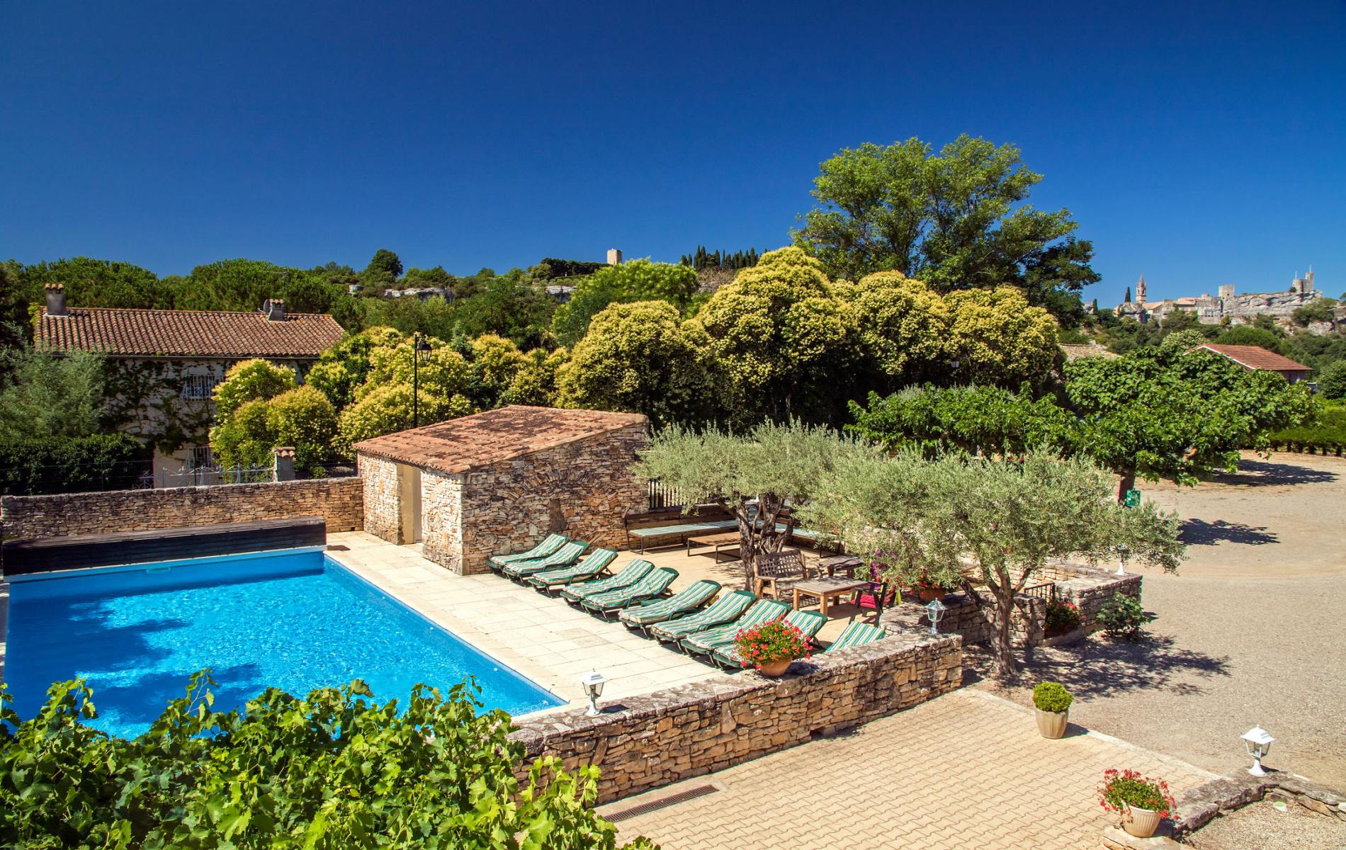 ∞ Hotel With Pool Near Vallon Pont D'arc. pour Hotel Ardeche Avec Piscine