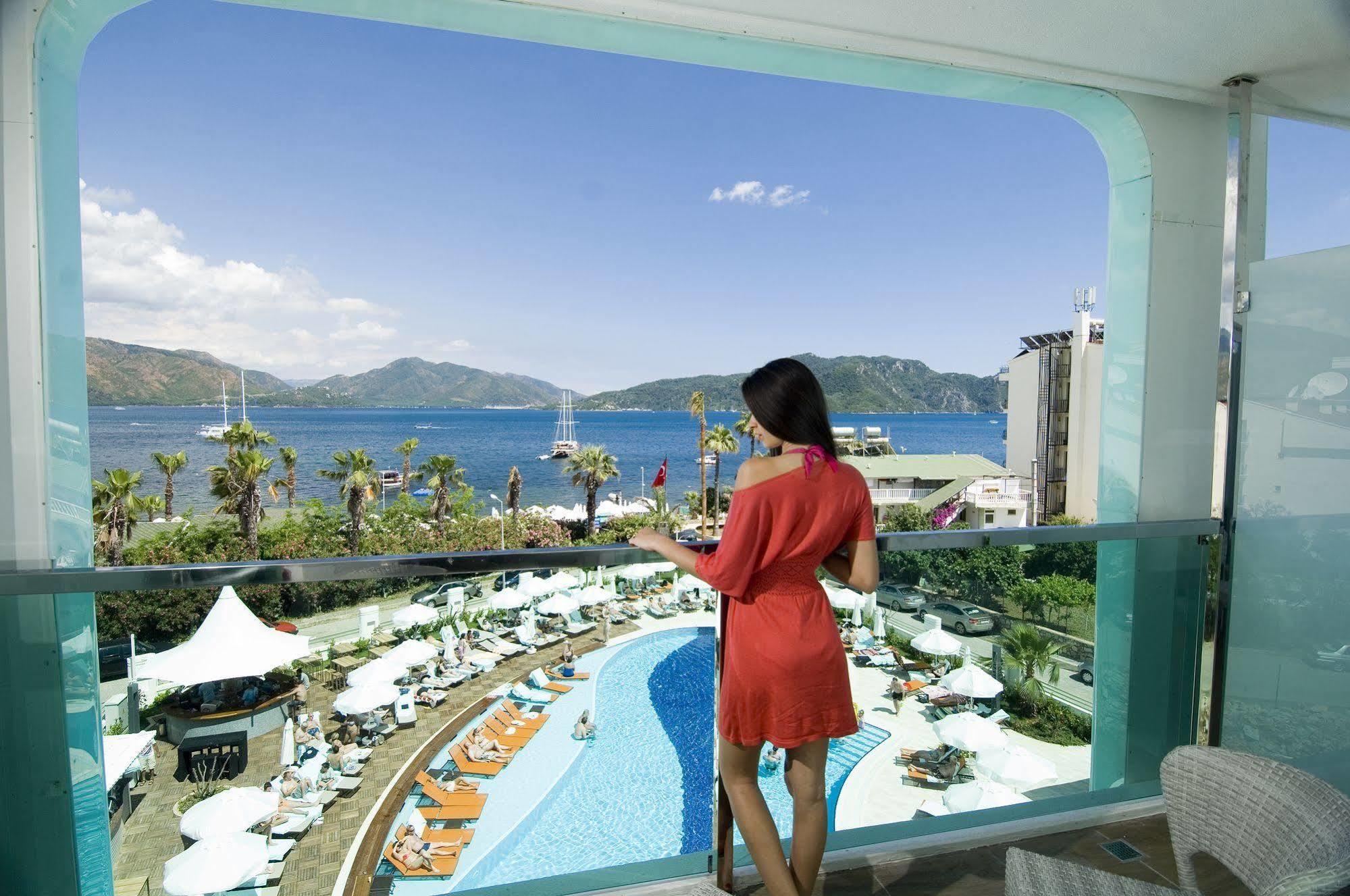 ▻ Casa De Maris Hotel Marmaris tout Piscine Bonneveine