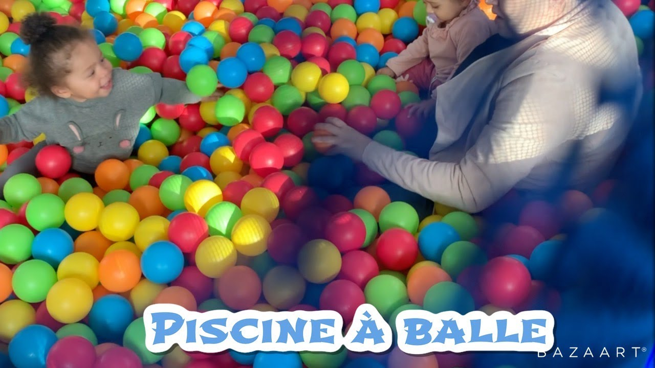 ♛ Géante Piscine A Balle ♛ Papa Vlogueur avec Piscine A Balle Geante