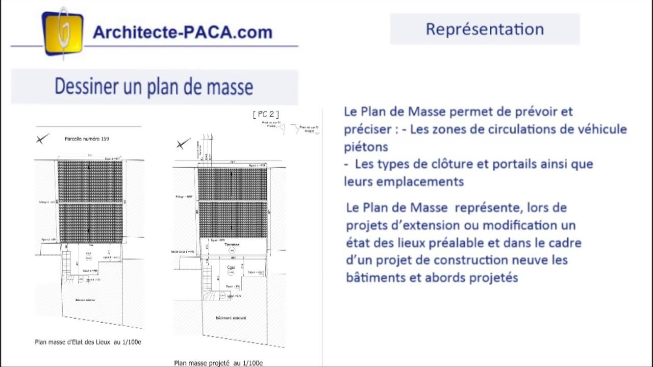 ✏️ Plan De Masse : Comment Faire Facilement Un Plan De Masse ? avec Plan De Coupe Piscine