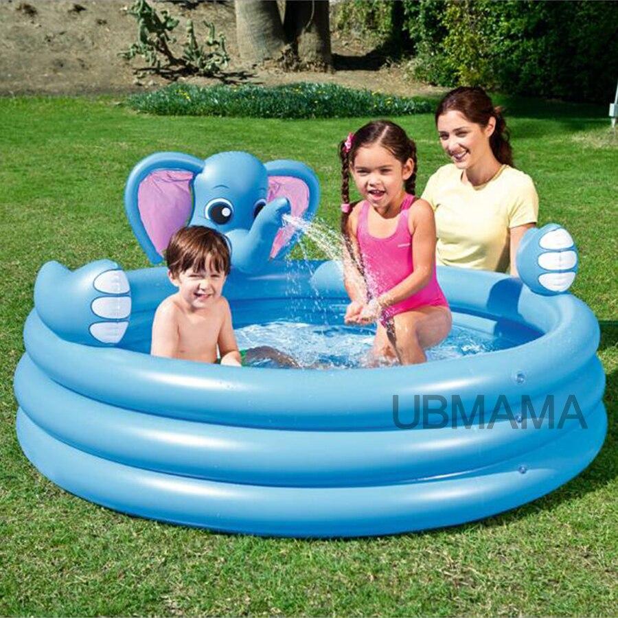 €45.61 49% De Réduction|Multi Fonction Belle Éléphant Enfants Gonflable  Piscine D'eau Famille Maison Aire De Jeux Piscine Piscina Bebe Zwembad|Pool  ... concernant Aire De Jeux Gonflable Piscine
