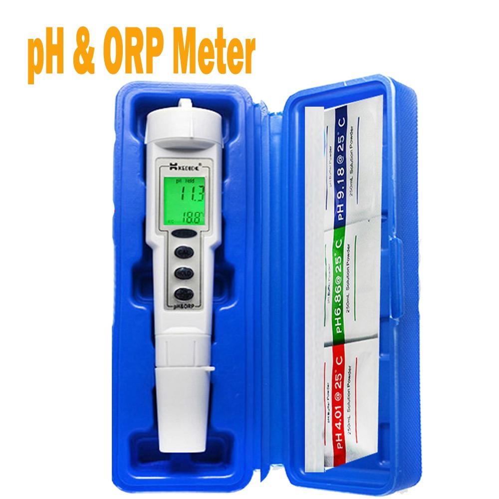 €54.43 |Ct 6821 Ph Testeur Mètre Piscine Testeur Orp Qualité De L'eau  Compteur Testeur Aquarium Ph Mètre Orp Ph 2In1|Meter Orp|Ph Pen|Orp Meter -  ... dedans Testeur Piscine