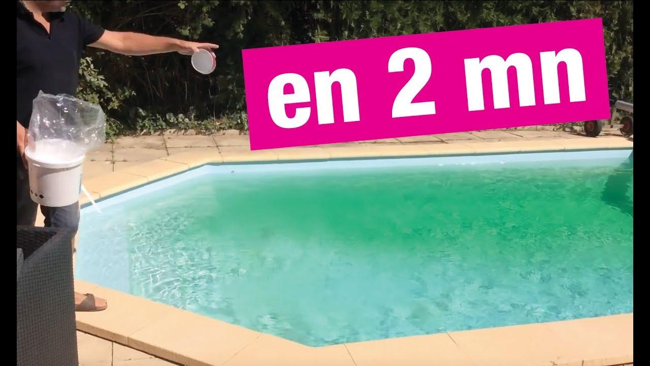 Eau De Piscine Verte Produit Miracle !!! avec Algues Vertes Piscine