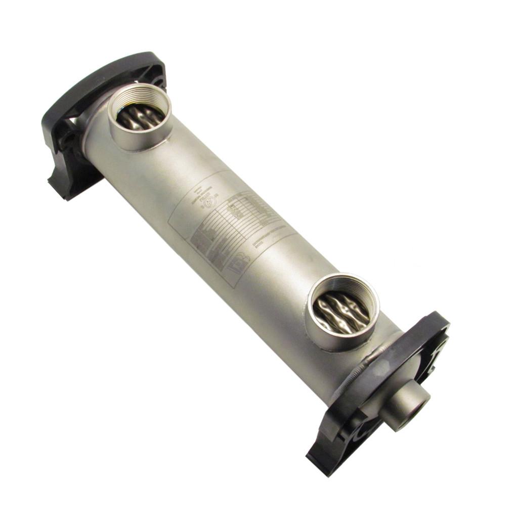 Échangeur Tubulaire Pour Piscine Ou Spas Au Sel 155K Btu (Titanium) avec Echangeur Piscine