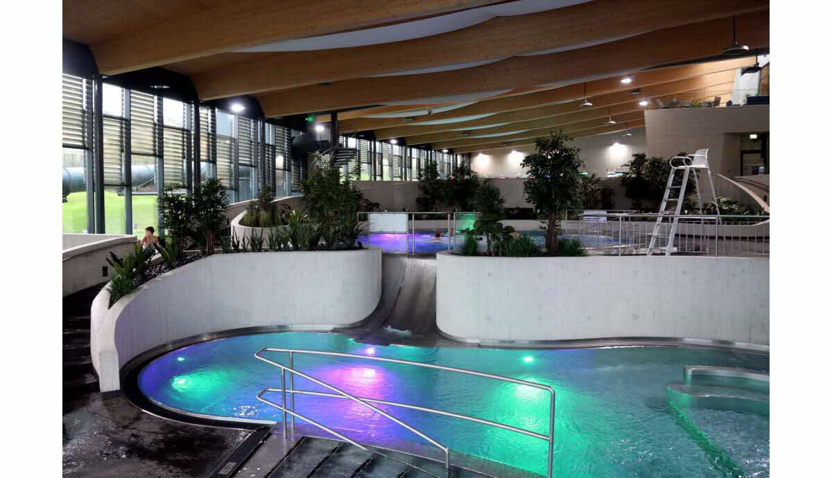 Edition Longwy | Photos. Differdange : Aquasud, Une Piscine ... avec Piscine Aquasud
