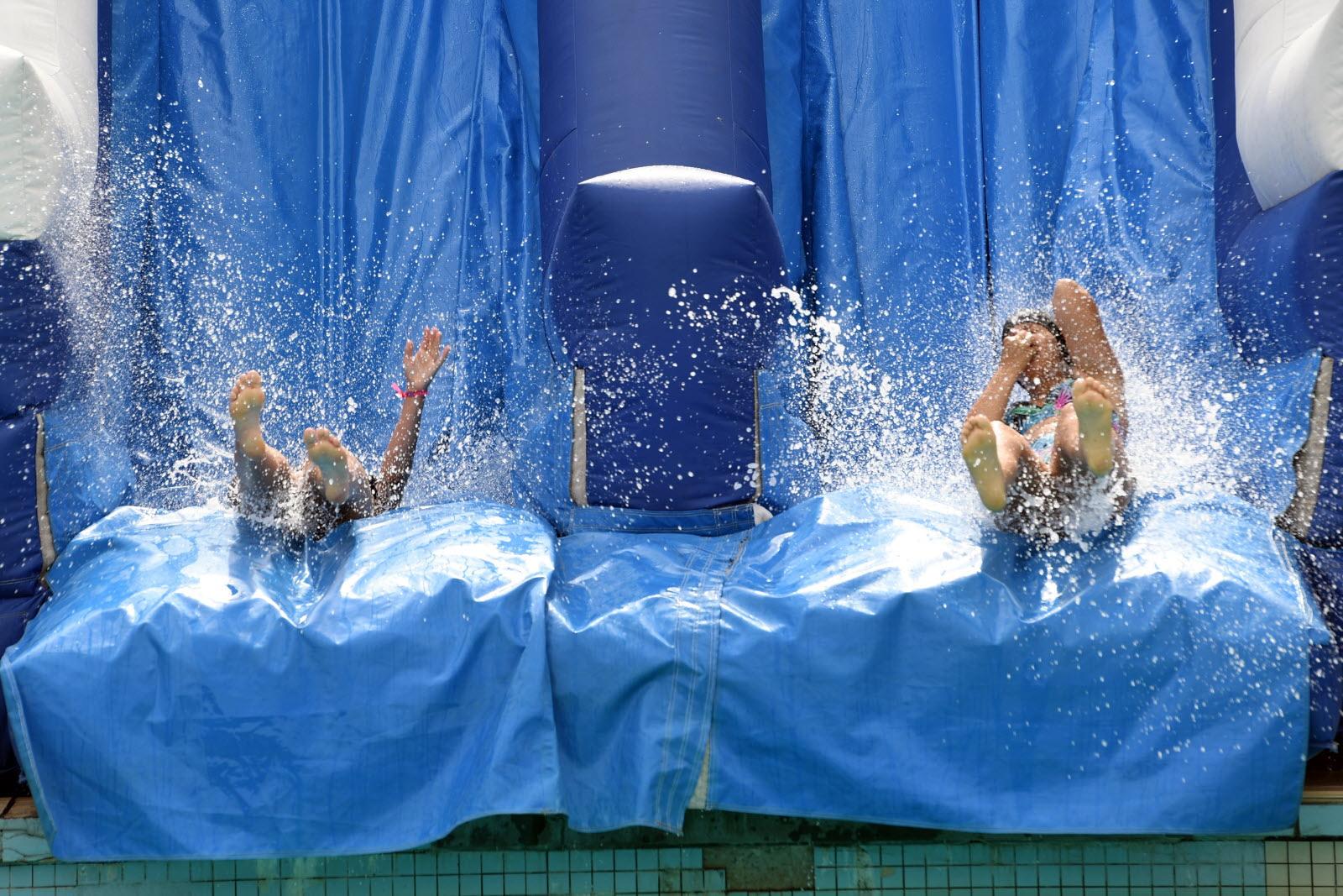 Edition Nancy Et Agglomération | Photos. Pool Partie : La ... serapportantà Musique Piscine