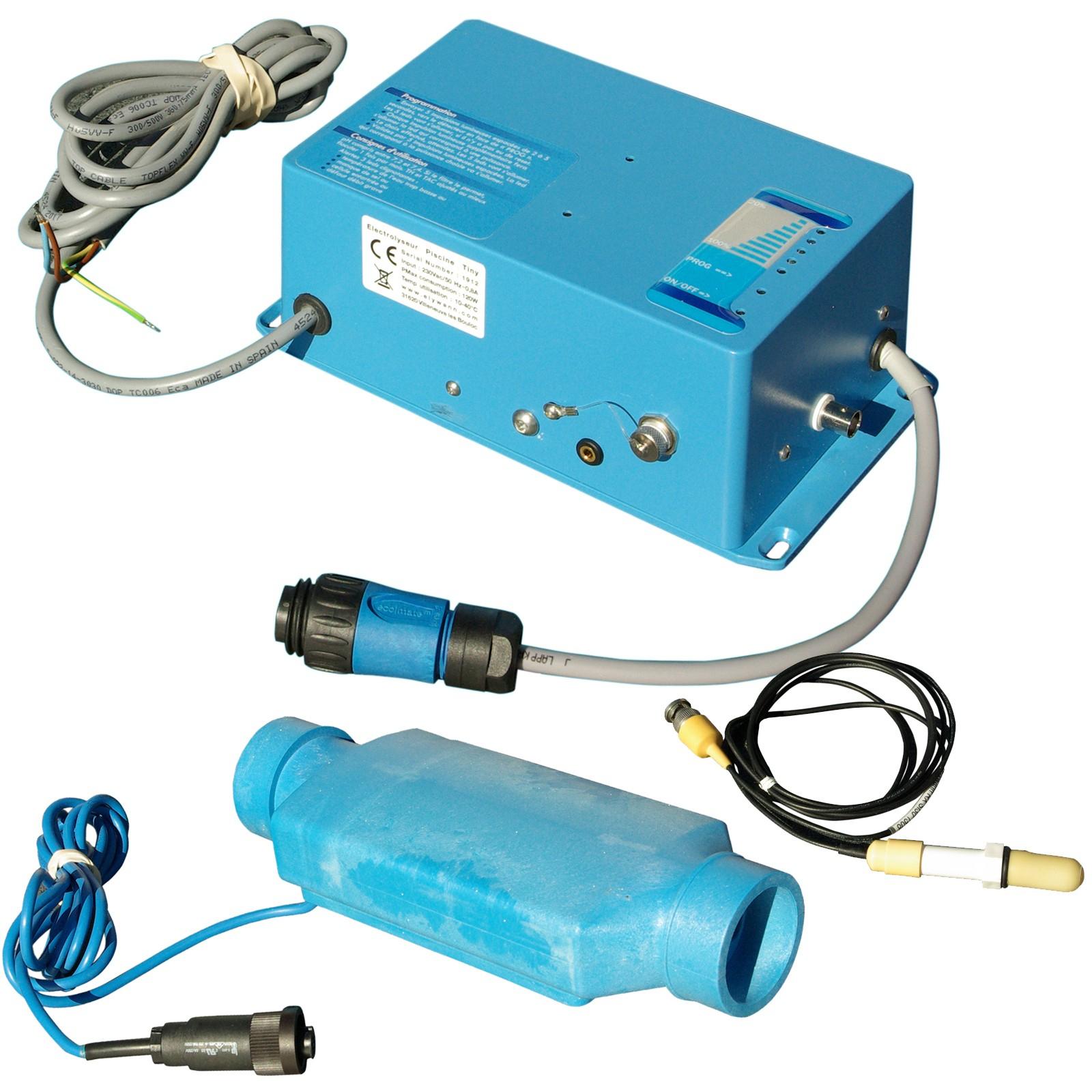 Électrolyseur À Sel Tiny 80 Plus pour Electrolyseur Sel Piscine