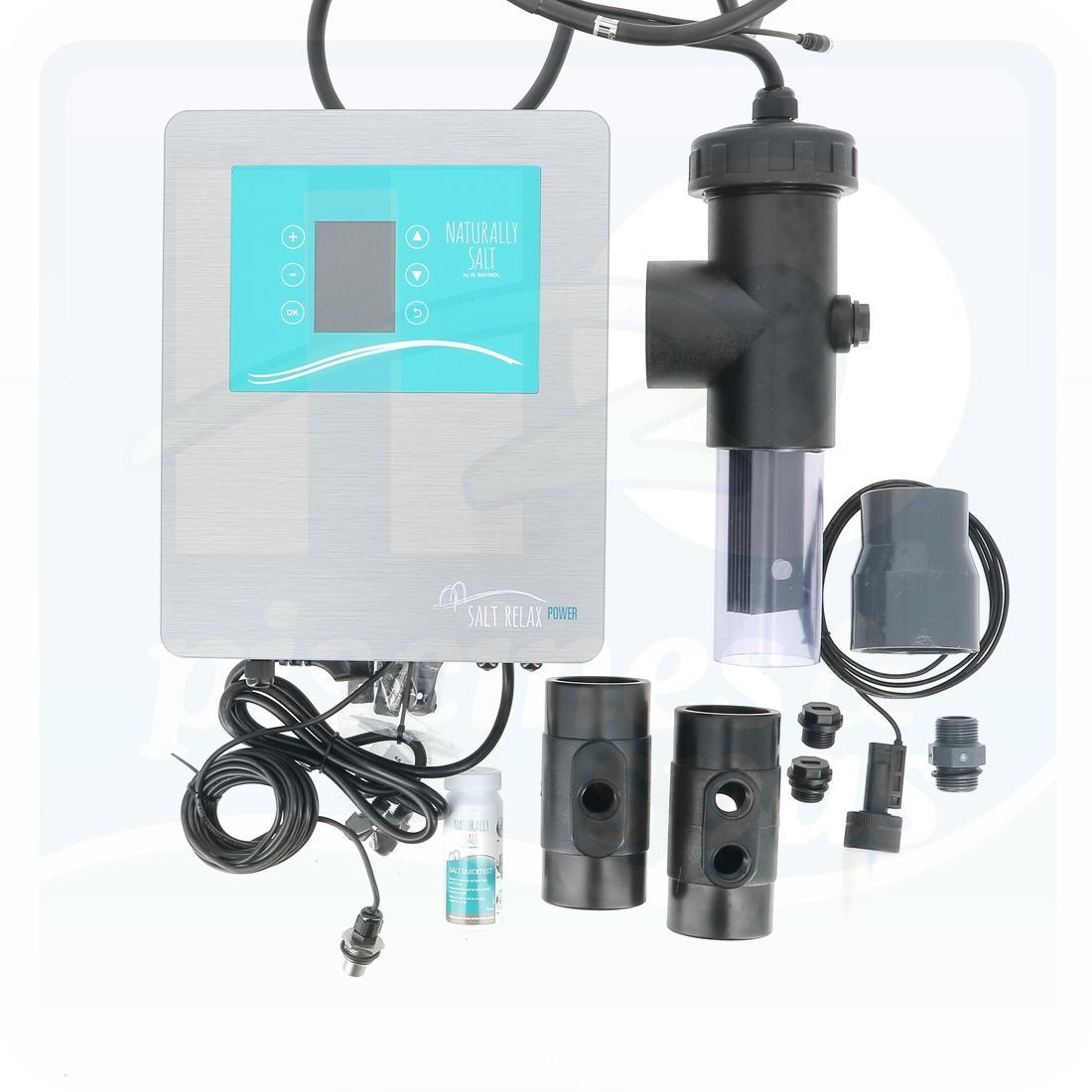 Electrolyseur Au Sel Bayrol Salt Relax Power Pour Piscine Jusqu'à 170 M3 -  H2O Piscines & Spas intérieur Electrolyseur Sel Piscine