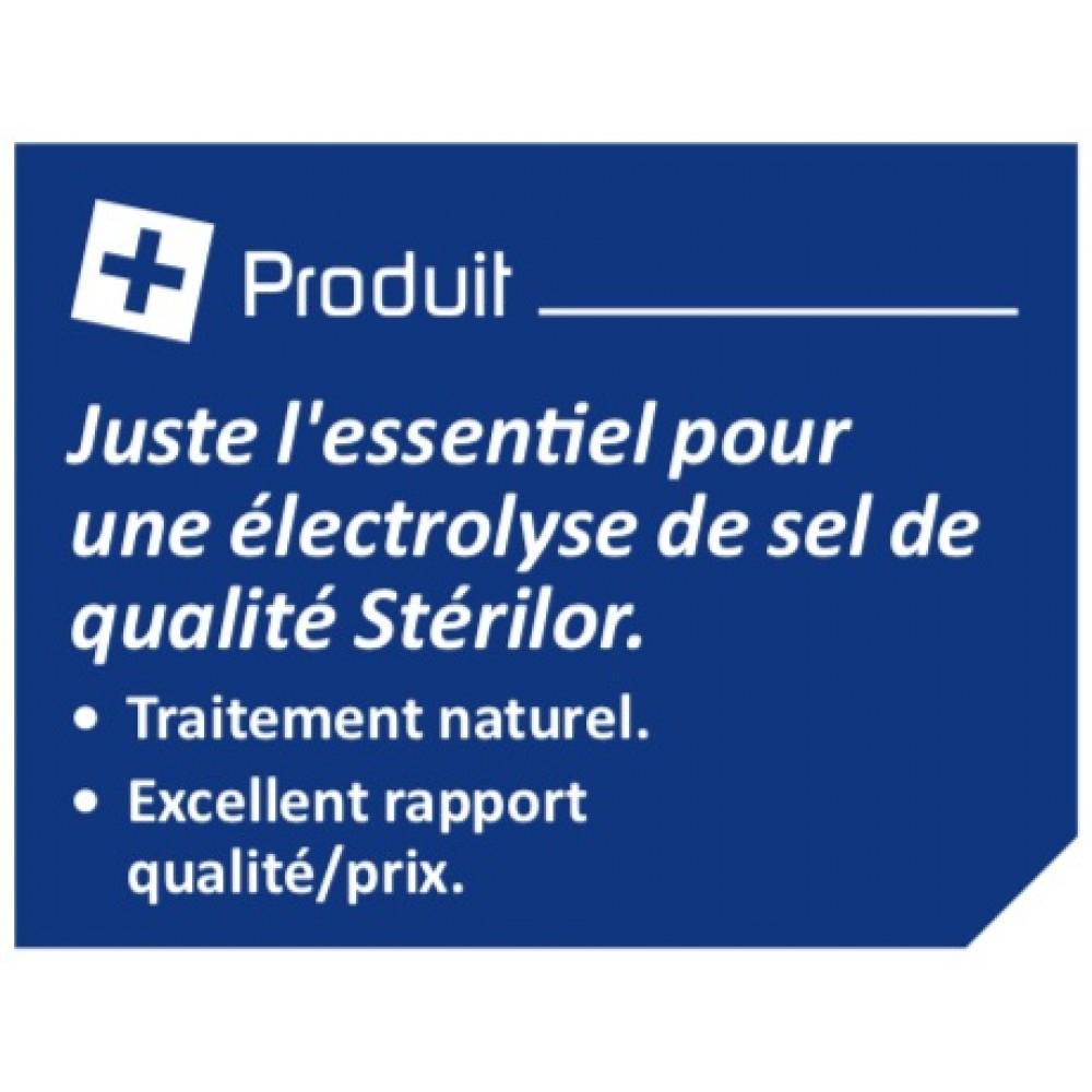 Électrolyseur De Sel 120 Stérilor Système 7 - 2019 - Pour ... concernant Electrolyseur Sel Piscine