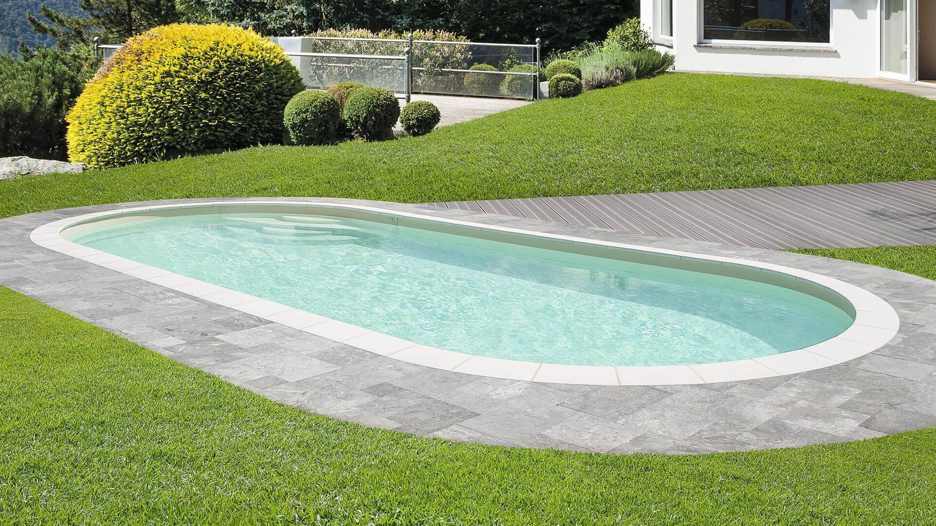 Elsa Oval Pool – A Timeless Pool Design encequiconcerne Entourage Piscine