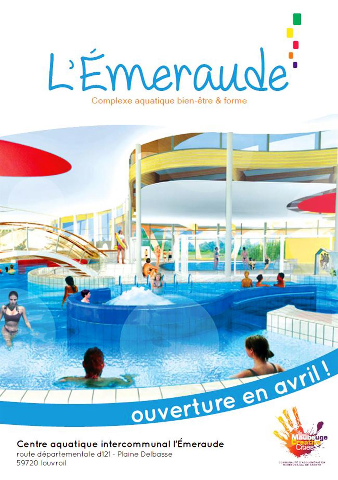 Emeraude-Complexe-Aquatique-Louvroil - Agglo Maubeuge-Val De ... pour Piscine De Louvroil