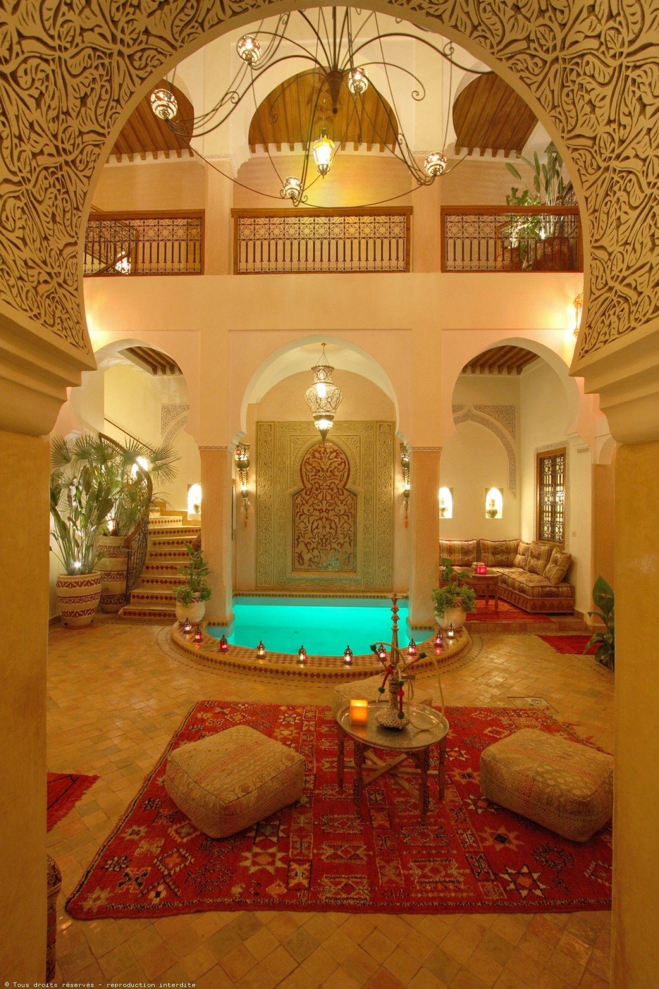 Emmy De * Medina De Marrakech Riad Avec Piscine Chauffée Et ... intérieur Riad Marrakech Avec Piscine