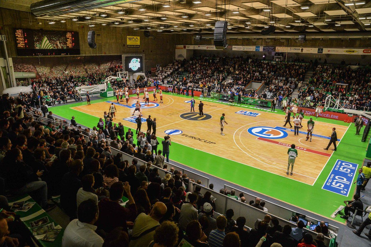 En Images. Basket : Le Nouveau Palais-Des-Sports De Nanterre ... encequiconcerne Piscine Du Palais Des Sports À Nanterre Nanterre