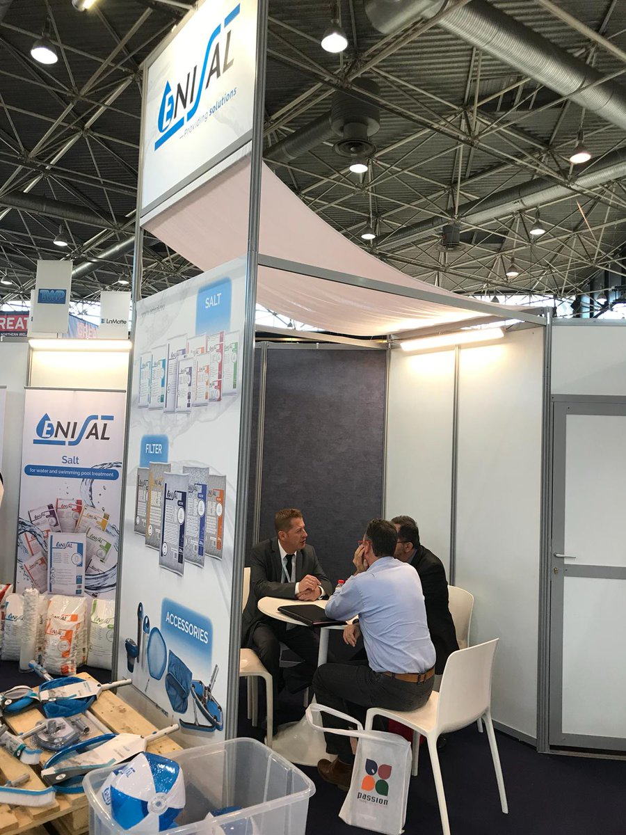 """Enisal On Twitter: """"our Stand In Piscine Global Lyon. Come ... destiné Piscine Passion"""