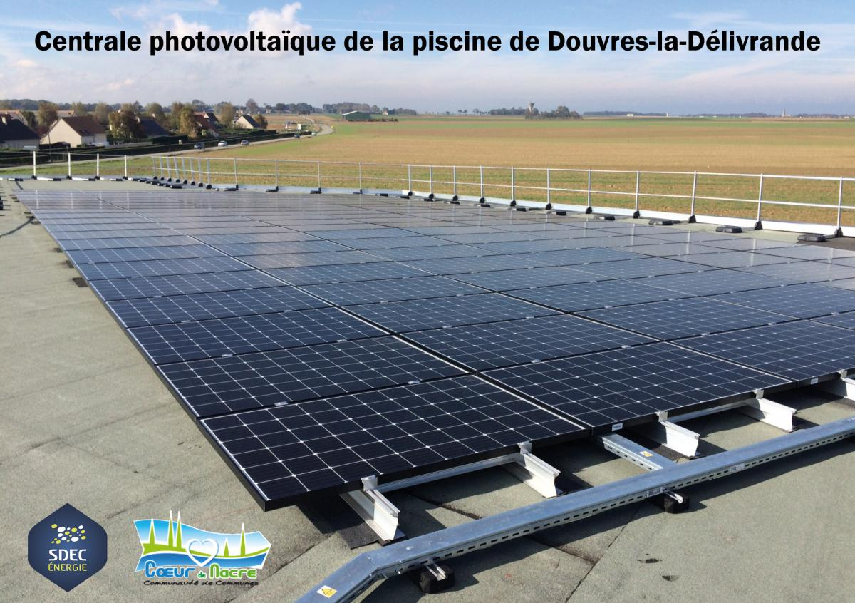 Enr] Inauguration De La Centrale Photovoltaïque De La ... dedans Piscine Douvres La Délivrande