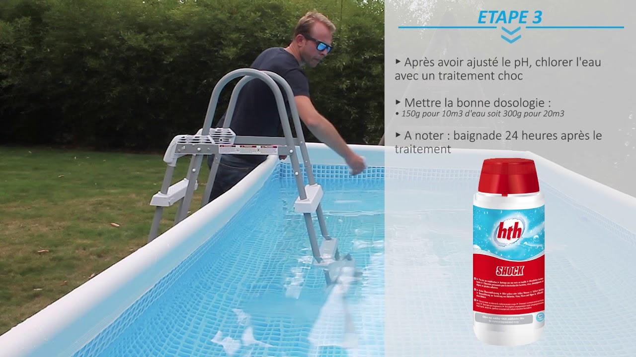 Entretien Et Traitement De L'eau D'une Piscine Hors-Sol serapportantà Entretien Piscine Intex