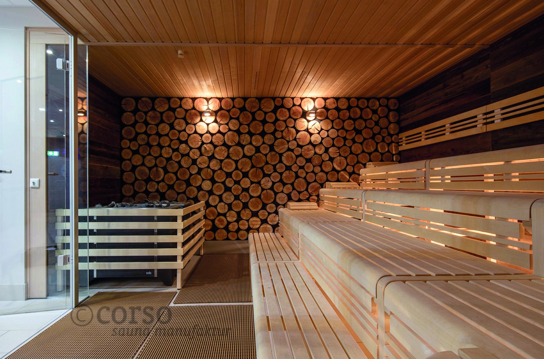 Entspannung In Der Corso Design Sauna Im Venice Beach ... intérieur Piscine Karlsruhe