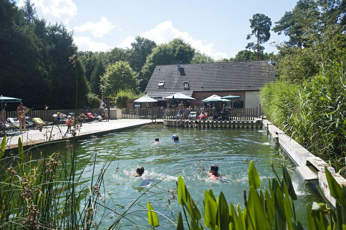 Épinglé Sur Huttopia Rambouillet concernant Camping Alsace Piscine