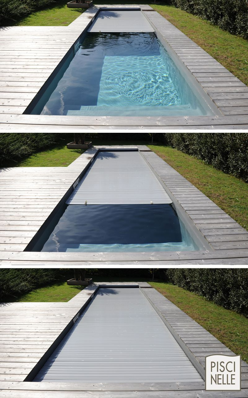 Épinglé Sur Pool tout Couverture Piscine Automatique