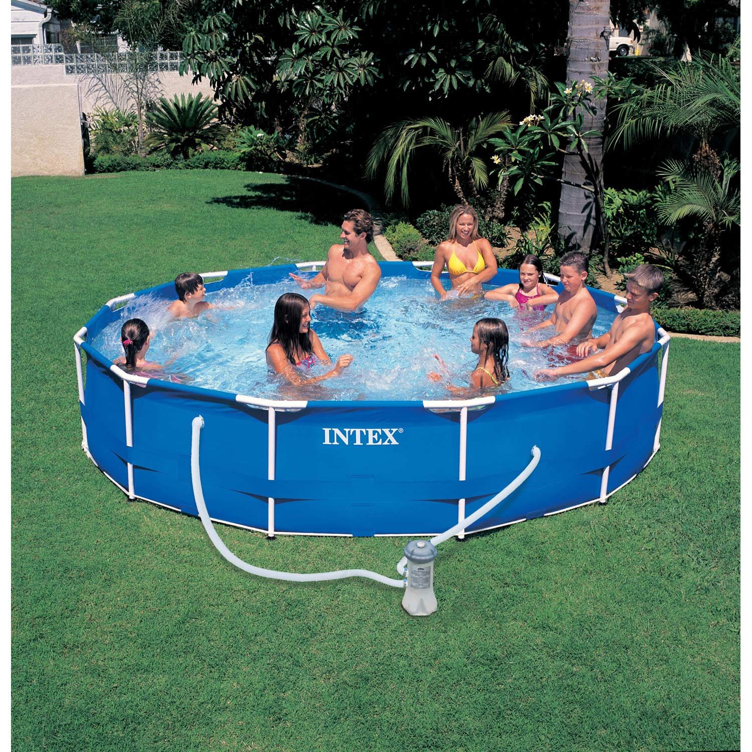 Épinglé Sur Products serapportantà Piscine Intex 3.66