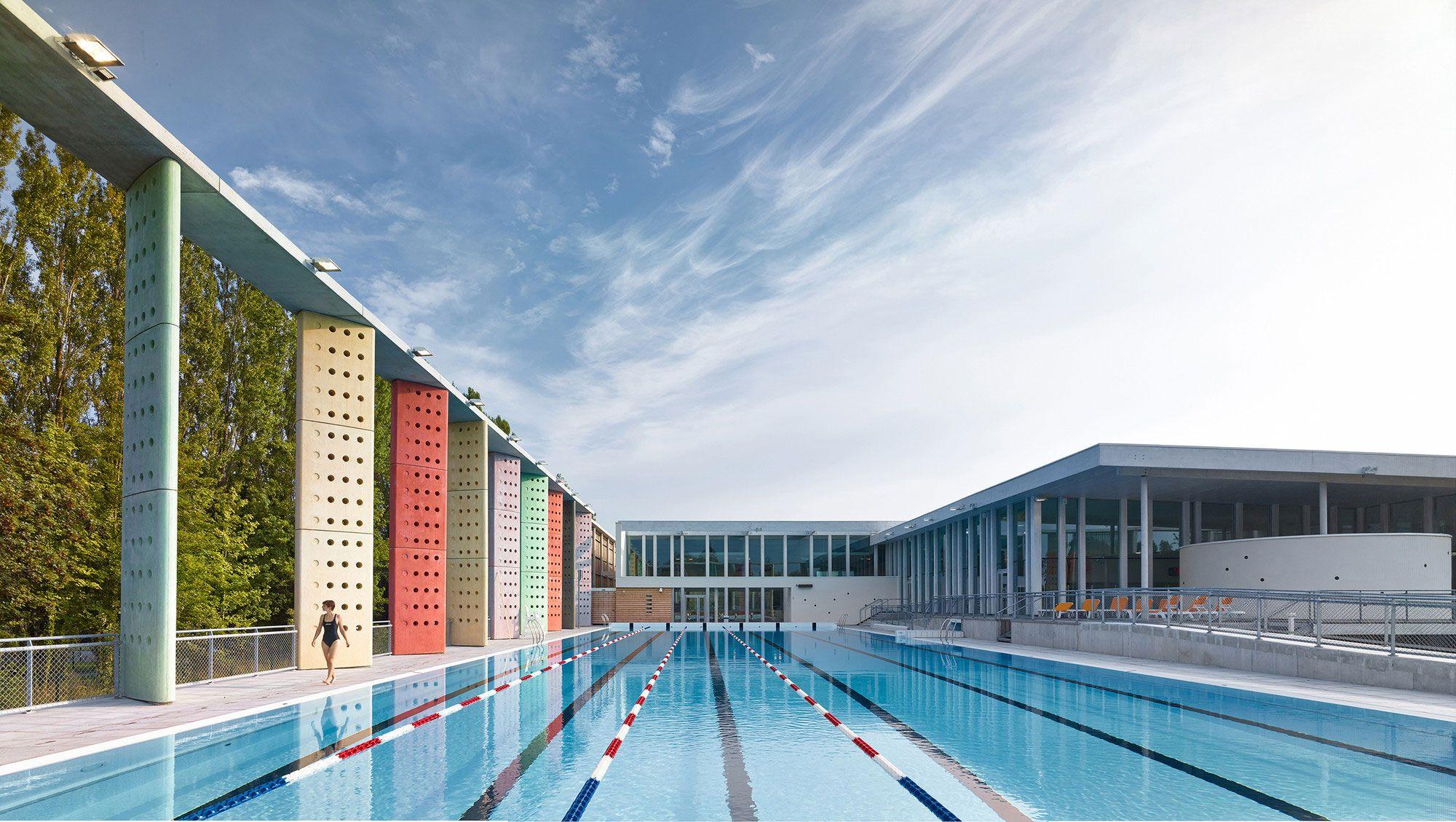 Épinglé Sur Swimming Pool à Piscine Louviers