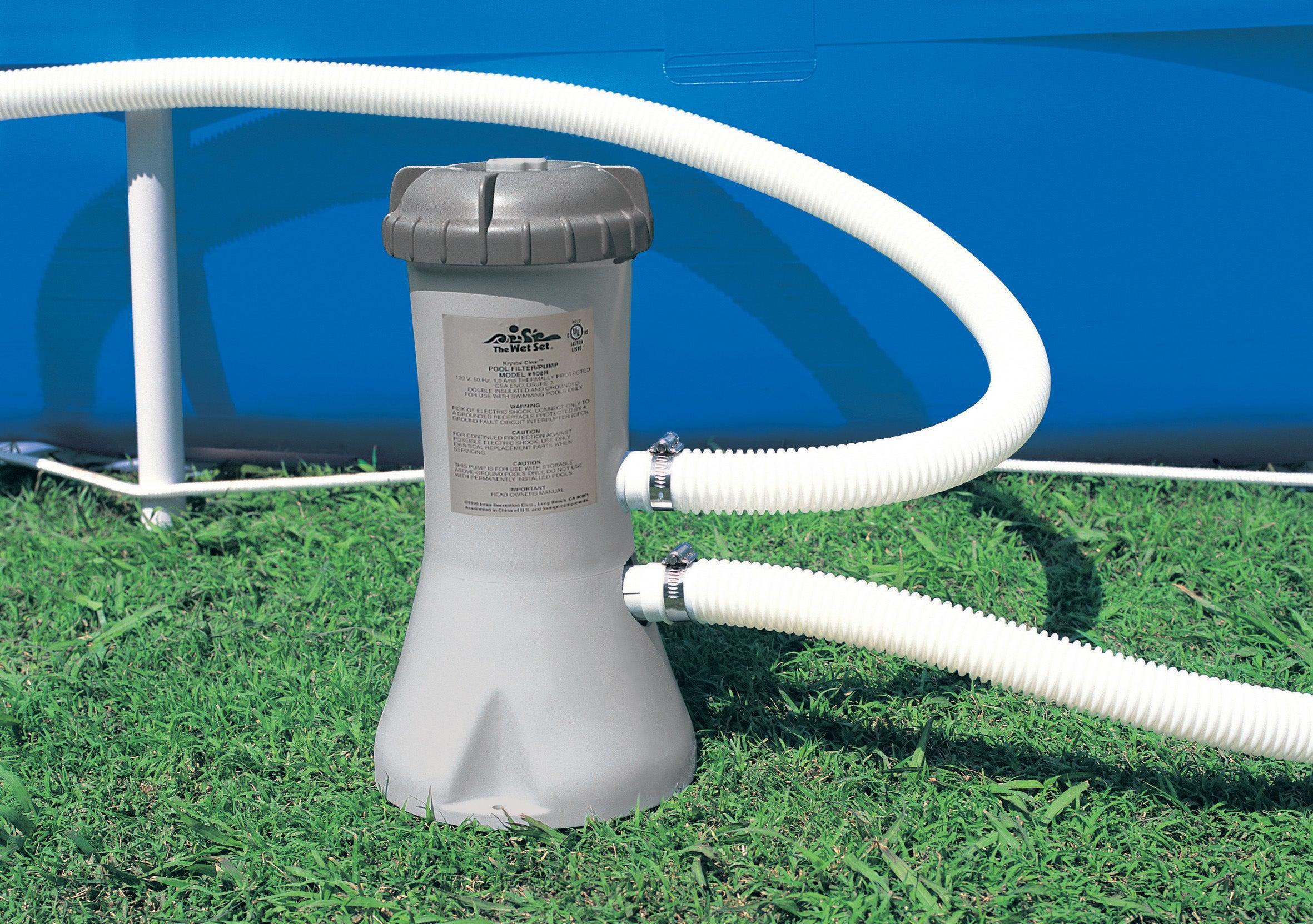 Epurateur À Cartouche Intex, 2.7 M³/h concernant Pompe Piscine Intex Leroy Merlin