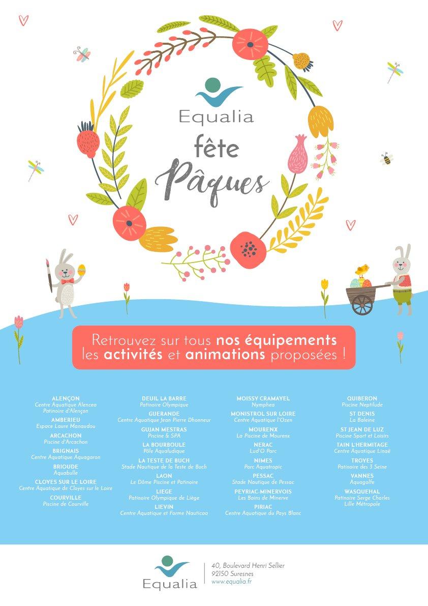 """Equalia Isabelle P. On Twitter: """"@equalisa Fête Pâques ... intérieur Piscine Lievin"""