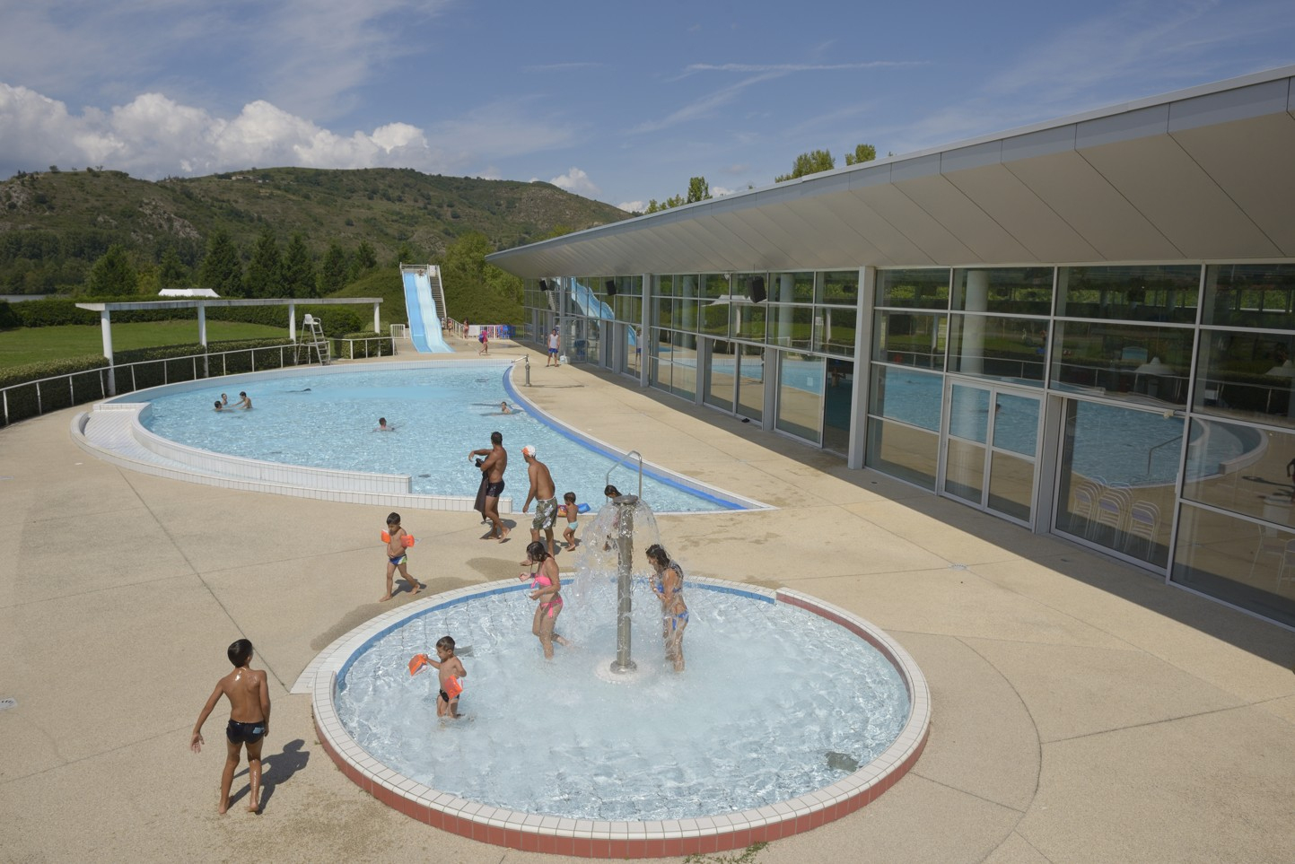 Espace Wellness | La Drôme Tourisme avec Piscine St Vallier