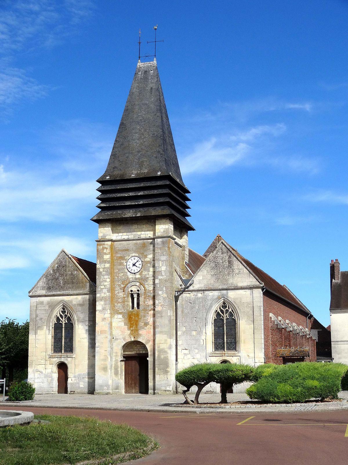 Estrées-Saint-Denis — Wikipédia pour Piscine Liancourt