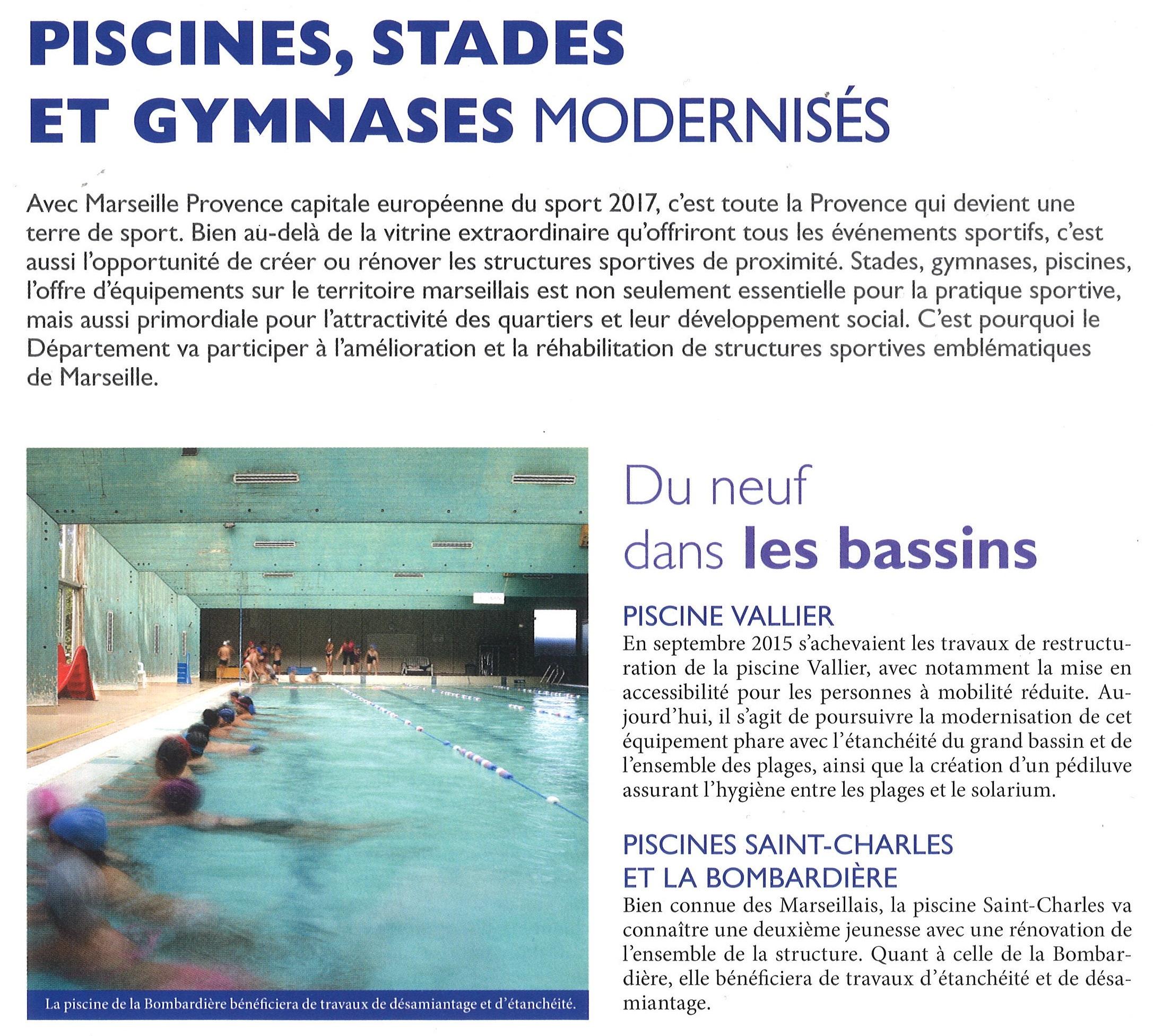 Etat De Nos Piscines À Marseille | Actualité Sportive ... serapportantà Piscine René Magnac