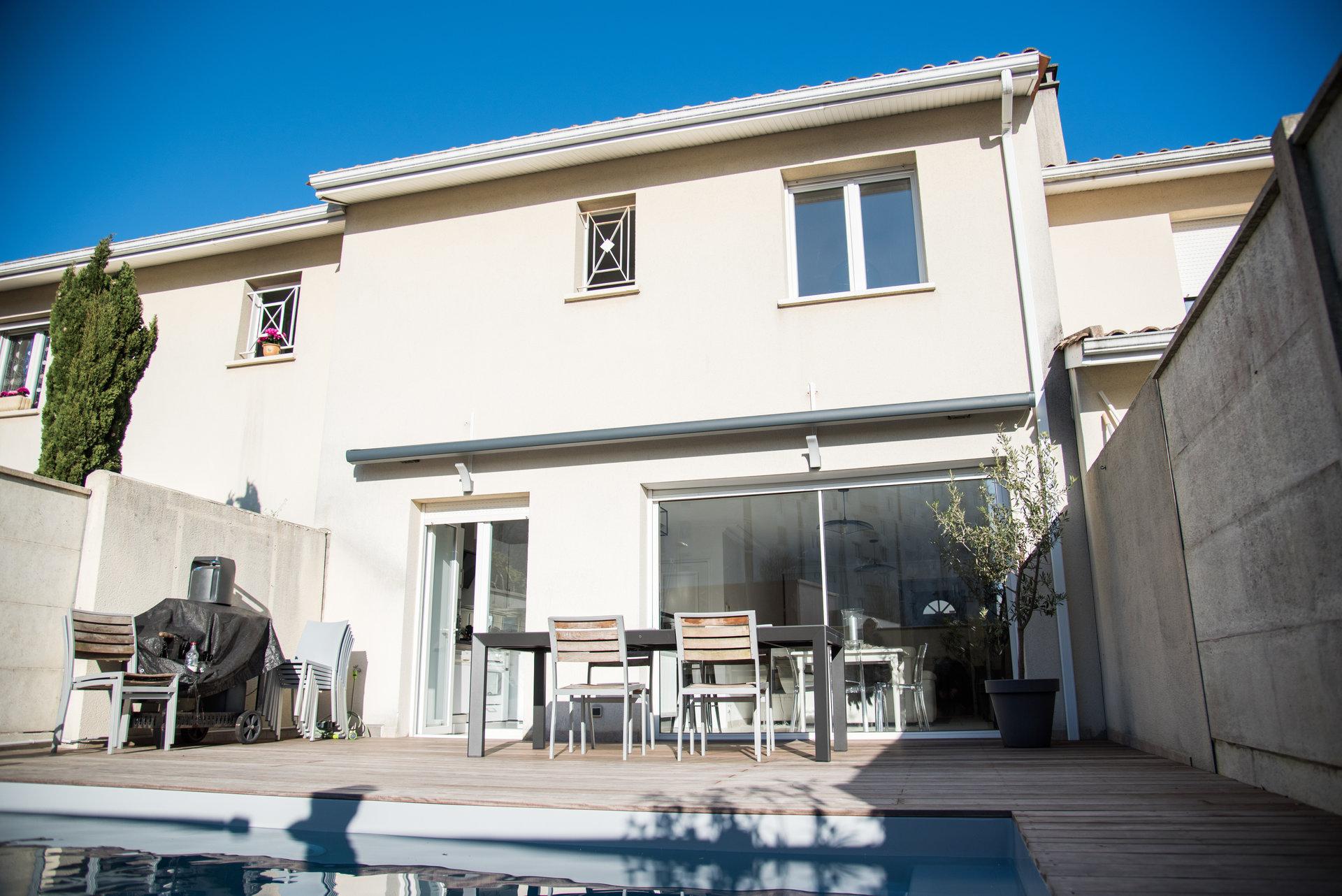 Exclusivite Le Bouscat Maison 90M2-3Ch-Piscine-Garage dedans Piscine Du Bouscat