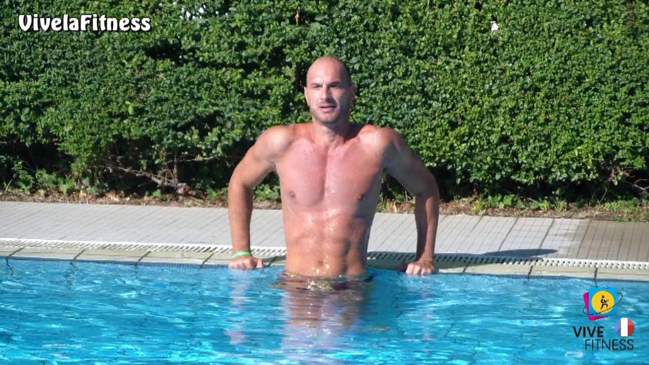 Exercices Pour Les Pectoraux Et Les Bras À La Piscine tout Musculation Piscine