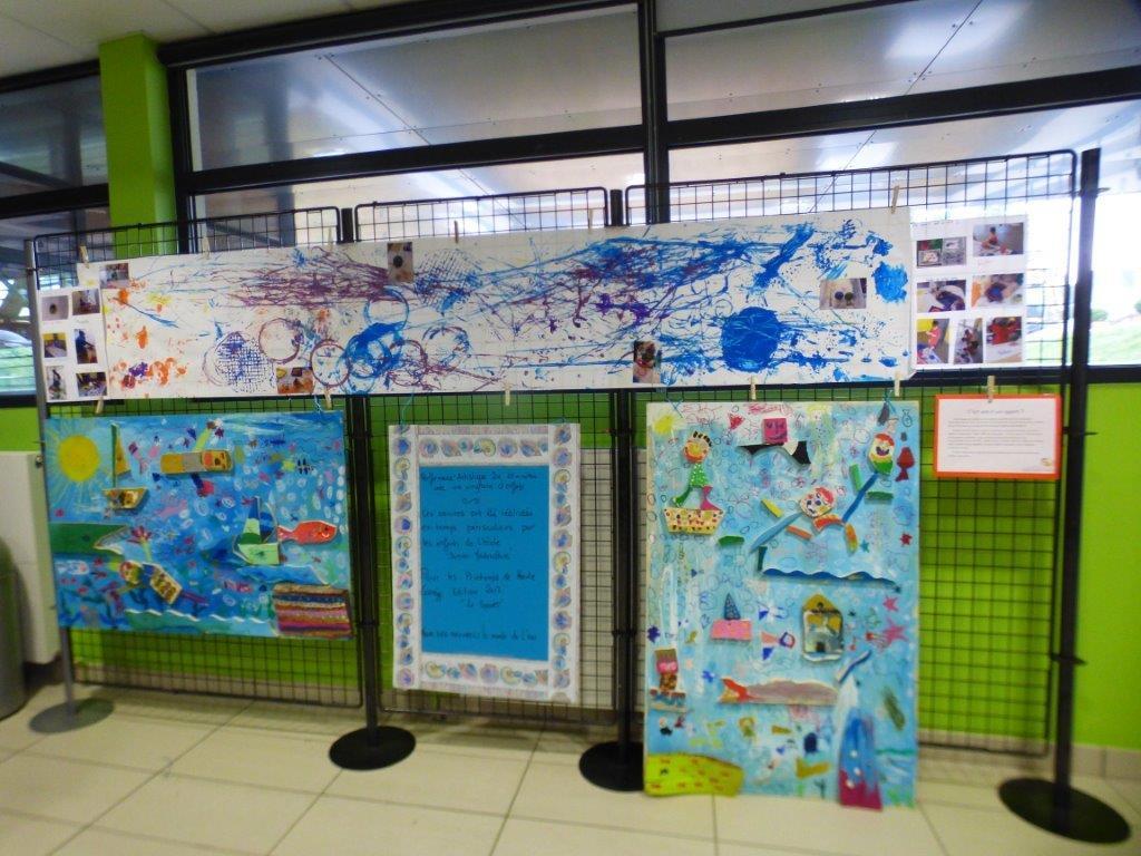 Exposition Dans Le Hall Du Centre Aquarécréatif   Communauté ... dedans Piscine Egletons