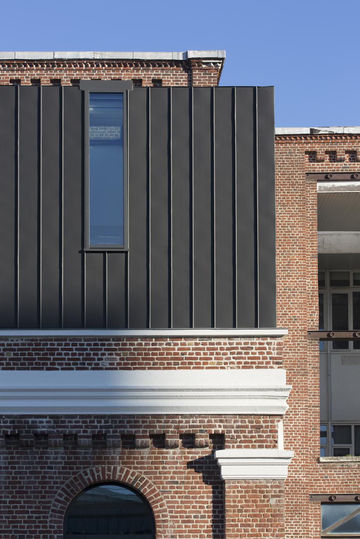 Extension De Bureaux À Lille-Lomme – Smd Architecture destiné Piscine De Lomme