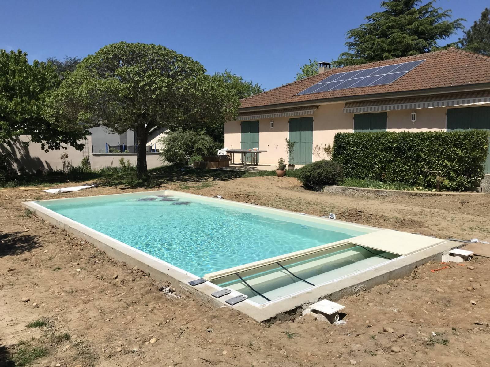 Extension D'une Maison D'habitation + Création D'une Piscine ... encequiconcerne Piscine Sainte Foy Les Lyon