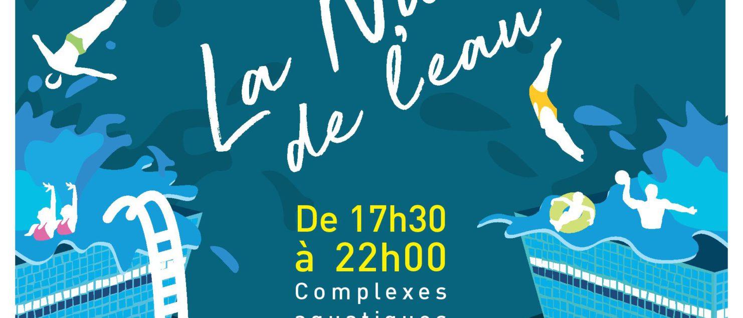 💧 Nuit De L'eau 2020 💧 – Ingréo – Montauban – Vert-Marine concernant Piscine Ingreo Montauban