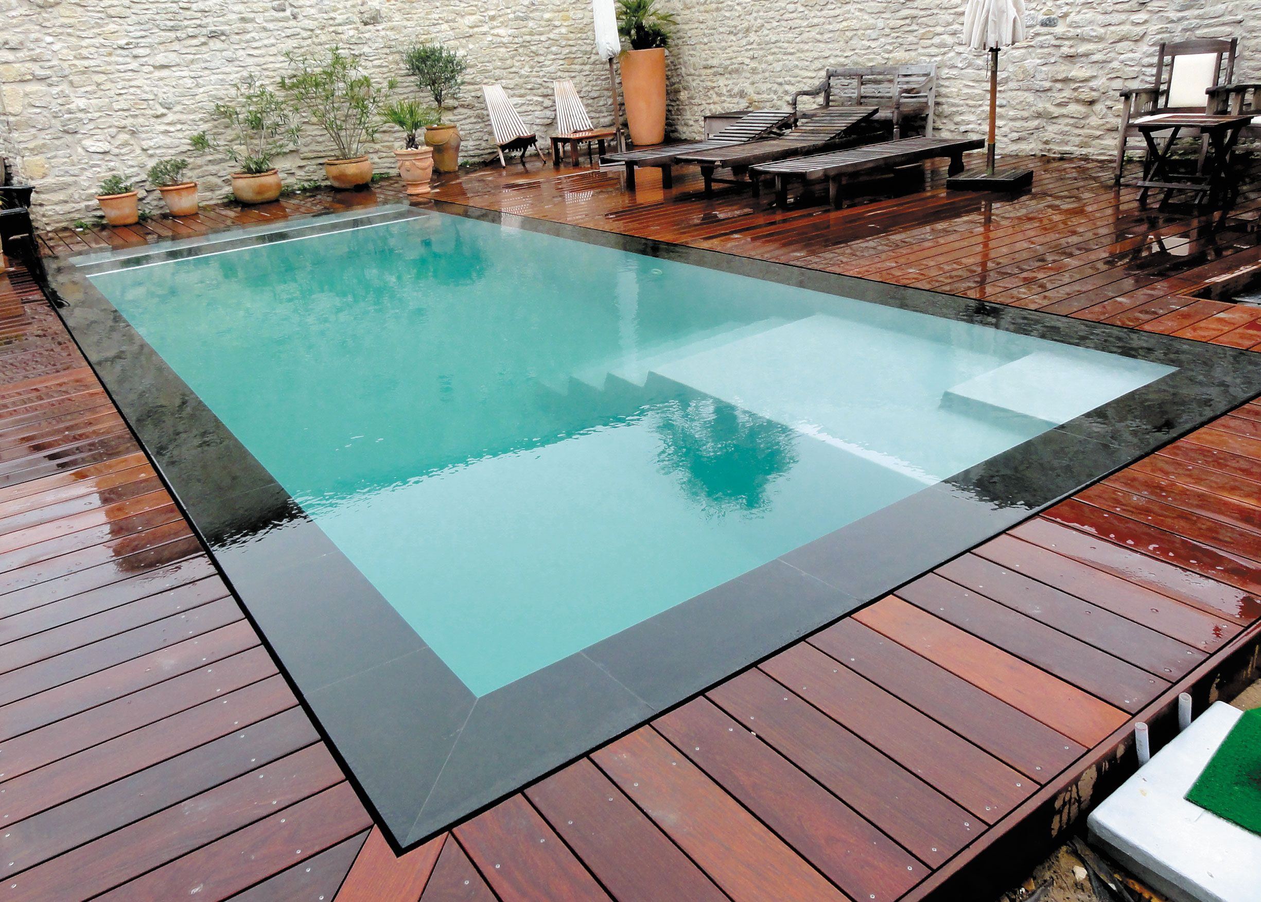 Facile À Installer Et Ultra Tendance, La #piscine Coque ... serapportantà Generation Piscine