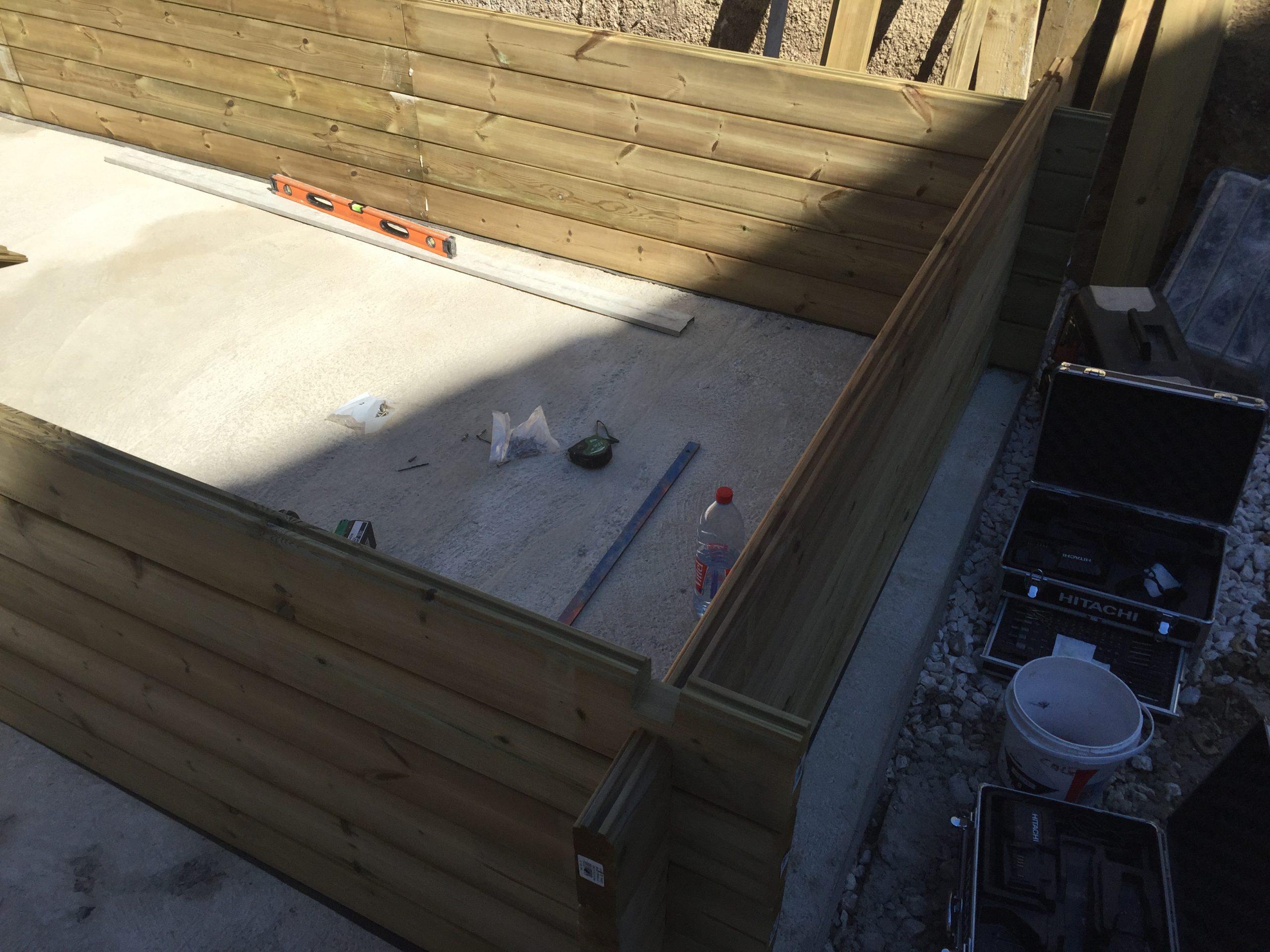 Faire Construire Une Piscine En Bois - Construction De ... destiné Fabriquer Une Piscine