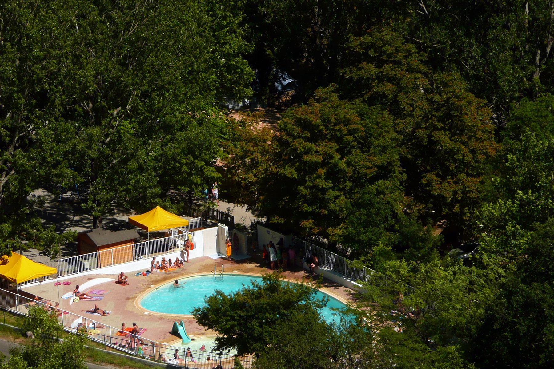 Familly Campsite In The Verdon - Domaine Chasteuil Provence à Camping Lubéron Avec Piscine
