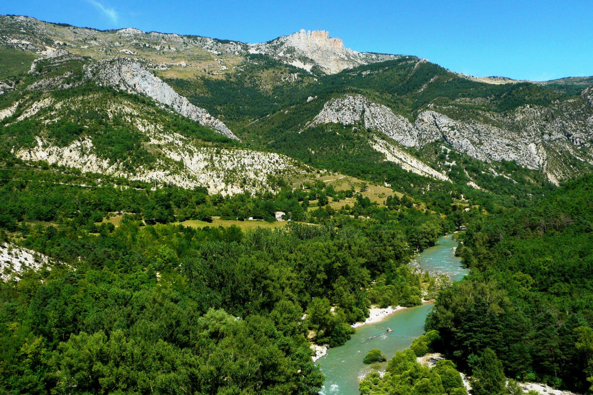 Familly Campsite In The Verdon - Domaine Chasteuil Provence avec Camping Gorges Du Verdon Avec Piscine
