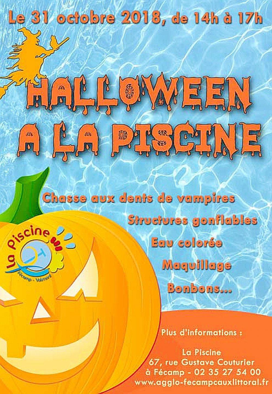 Fécamp. Halloween : À Fécamp On Va Chasser Les Vampires À La ... serapportantà Piscine De Fecamp