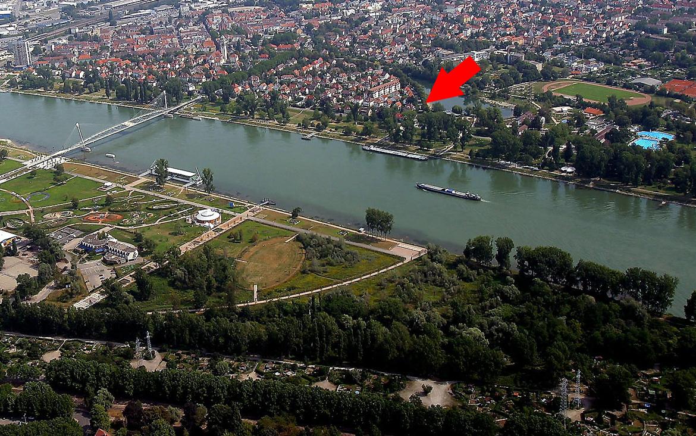 Ferienwohnung Haus Am Rhein dedans Piscine De La Fleche